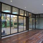 Витражные окна из алюминиевого профиля