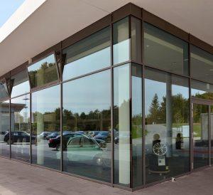 Фасадные алюминиевые окна