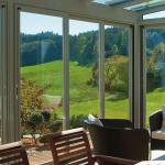 Теплое панорамное остекление дома