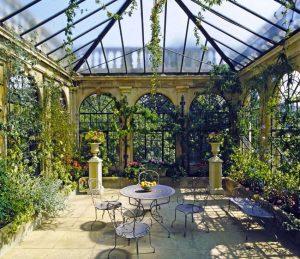 Установка систем отопления в зимнем саду