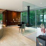 Использование стекла в интерьере квартир и загородных домов