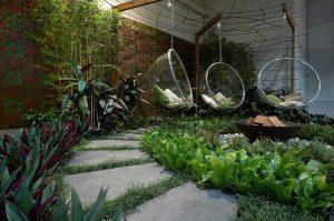Проектирование зимних садов с использованием малых архитектурных форм